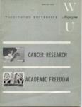 Washington University Magazine, Spring 1963