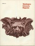 Washington University Magazine, Summer 1974