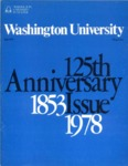 Washington University Magazine, Fall 1978