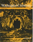 Washington University Magazine, Summer 1981