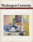 Washington University Magazine, Fall 1981