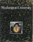 Washington University Magazine, Summer 1982