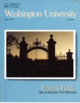 Washington University Magazine, Summer 1984