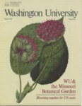 Washington University Magazine, Winter 1985