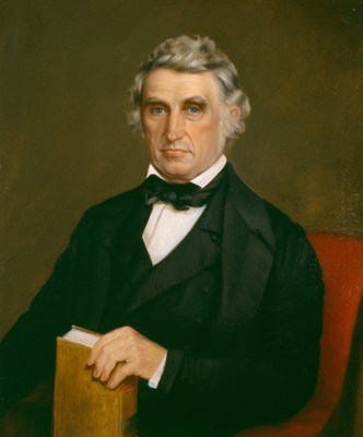Portrait of William Beaumont painted by Chester Harding