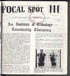 Focal Spot, Spring 1973