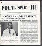 Focal Spot, Spring 1974
