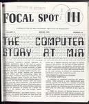 Focal Spot, Spring 1976