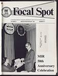 Focal Spot, Winter/Anniversary 1981