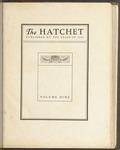 The Hatchet, 1912