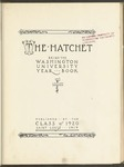 The Hatchet, 1920