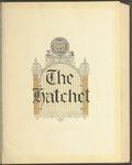 The Hatchet, 1928