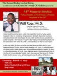 Urban health and the history of public hospitals in the U.S. by Will Ross