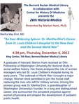 An ever-widening sphere: Dr. Martha Eliot's career from St. Louis Children's Hospital to the New Deal and the Second World War by Marion Hunt