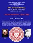 McGill medicine: 1929-1996