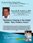 Residency training in the United States: Past, present, future