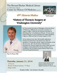 The history of thoracic surgery at Washington University by Marc R. Moon
