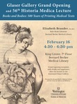 Books and bodies: Five hundred years of printing medical texts by Elisabeth Brander
