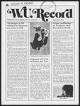 Washington University Record, September 5, 1974