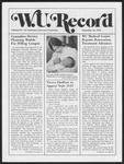 Washington University Record, September 12, 1974