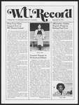 Washington University Record, September 26, 1974