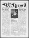Washington University Record, October 3, 1974