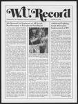 Washington University Record, October 31, 1974