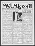 Washington University Record, November 7, 1974