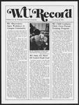 Washington University Record, November 21, 1974