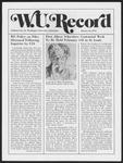 Washington University Record, January 16, 1975