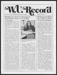Washington University Record, January 23, 1975