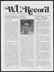 Washington University Record, March 20, 1975