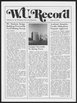 Washington University Record, March 27, 1975