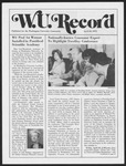 Washington University Record, April 24, 1975