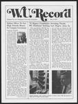 Washington University Record, May 1, 1975