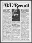 Washington University Record, May 8, 1975