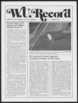 Washington University Record, October 9, 1975