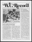 Washington University Record, April 1, 1976