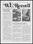 Washington University Record, May 13, 1976