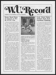 Washington University Record, March 3, 1977