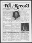 Washington University Record, April 21, 1977