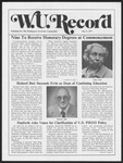 Washington University Record, May 5, 1977