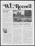 Washington University Record, May 19, 1977