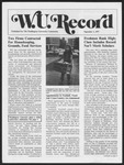 Washington University Record, September 1, 1977