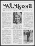 Washington University Record, September 15, 1977
