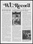 Washington University Record, September 29, 1977