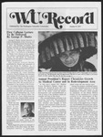 Washington University Record, October 27, 1977