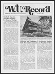 Washington University Record, November 3, 1977
