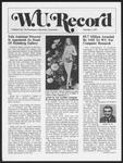 Washington University Record, December 1, 1977
