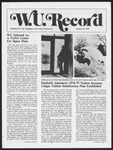 Washington University Record, January 26, 1978
